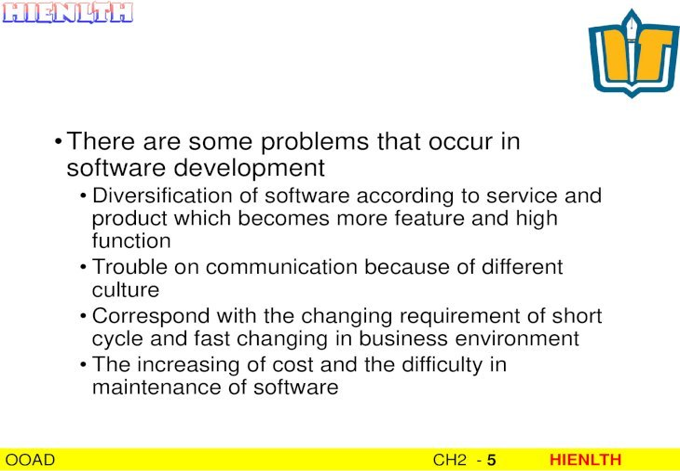 Chủ đề 2: UML - ??t ti liệu (Documenting) OOAD CH2 - 14 ...